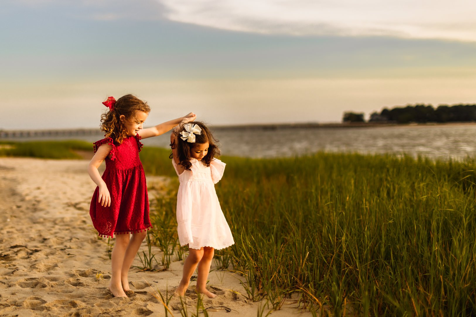 Boston Beach Family Session - Fine Art -20
