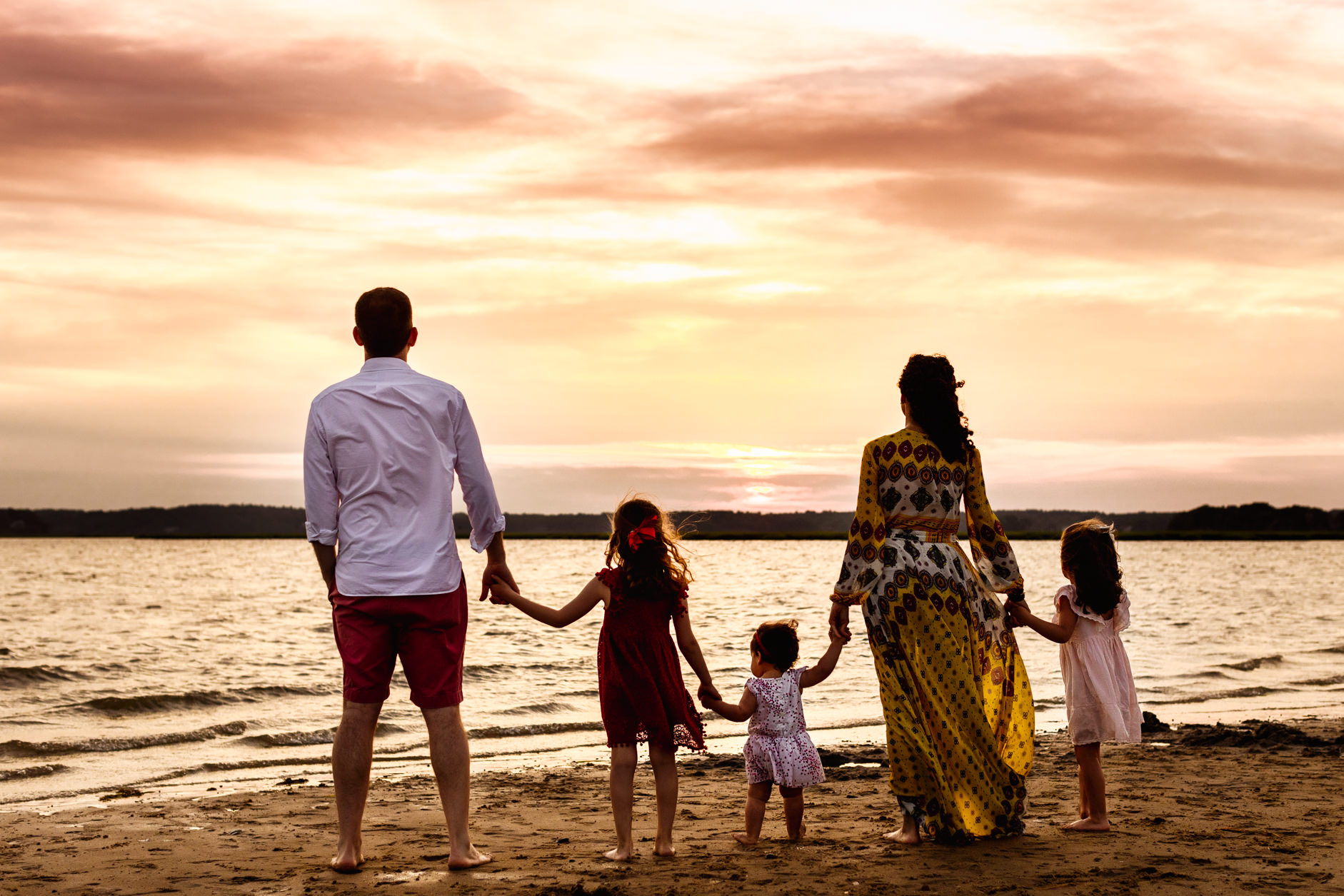Boston Beach Family Session - Fine Art -57