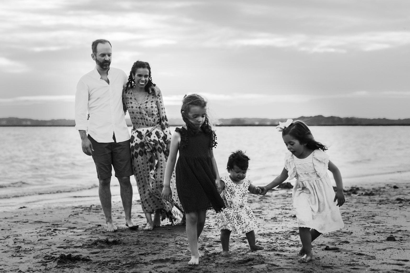 Boston Beach Family Session - Fine Art -58