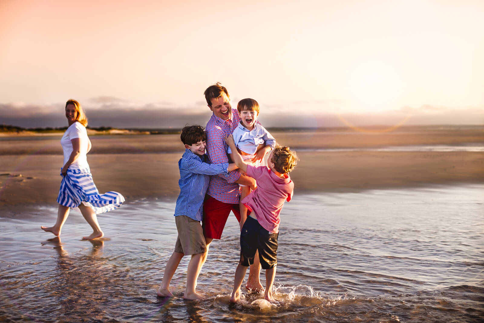 Cape Cod Beach Family Photo Session-13