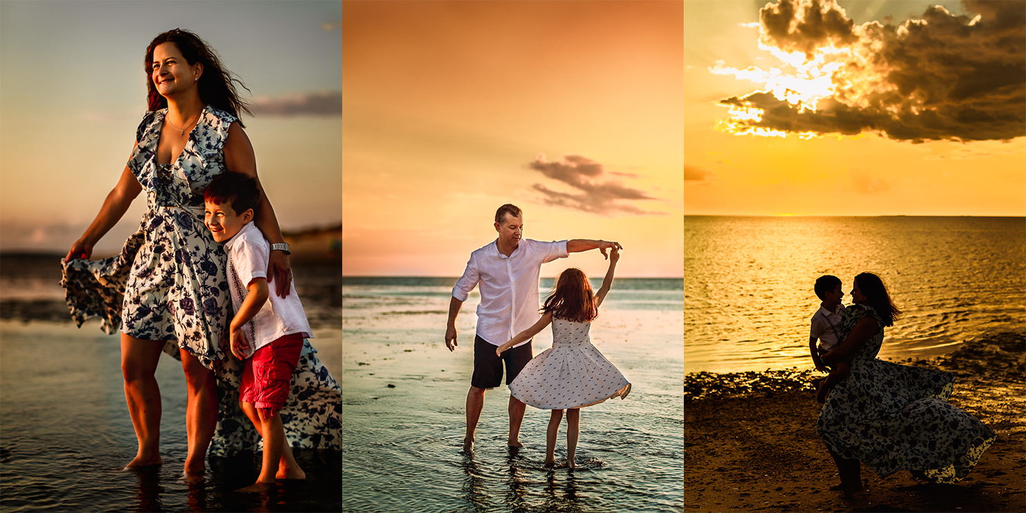 Cape Cod Family Photos collage 2