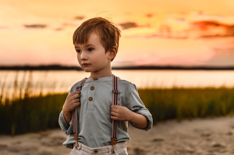 Duxbury Beach Family Photo Session -11