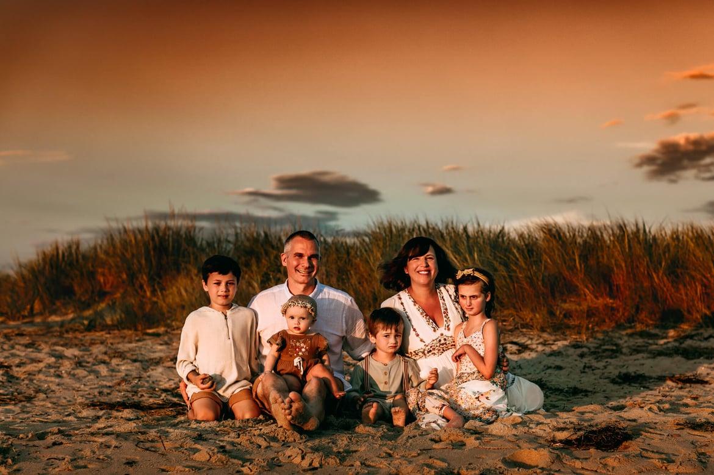 Duxbury Beach Family Photo Session -7