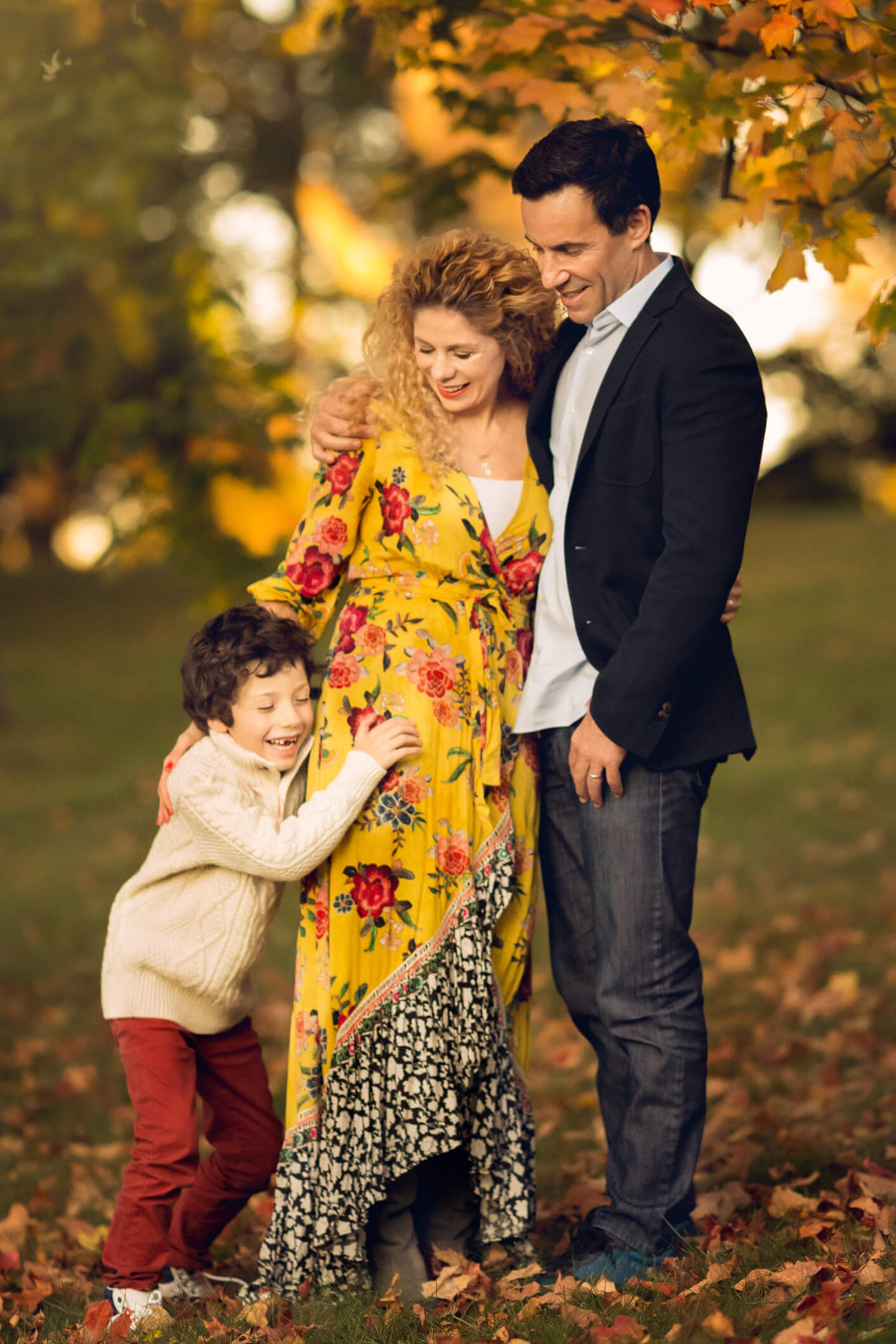Fall Family Fine Art Portraits, Family Photographer Boston 8