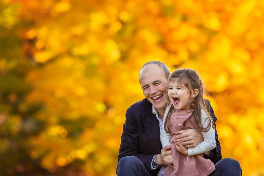 Fall Family Fine Art Portraits, Family Photographer Boston, dad 3