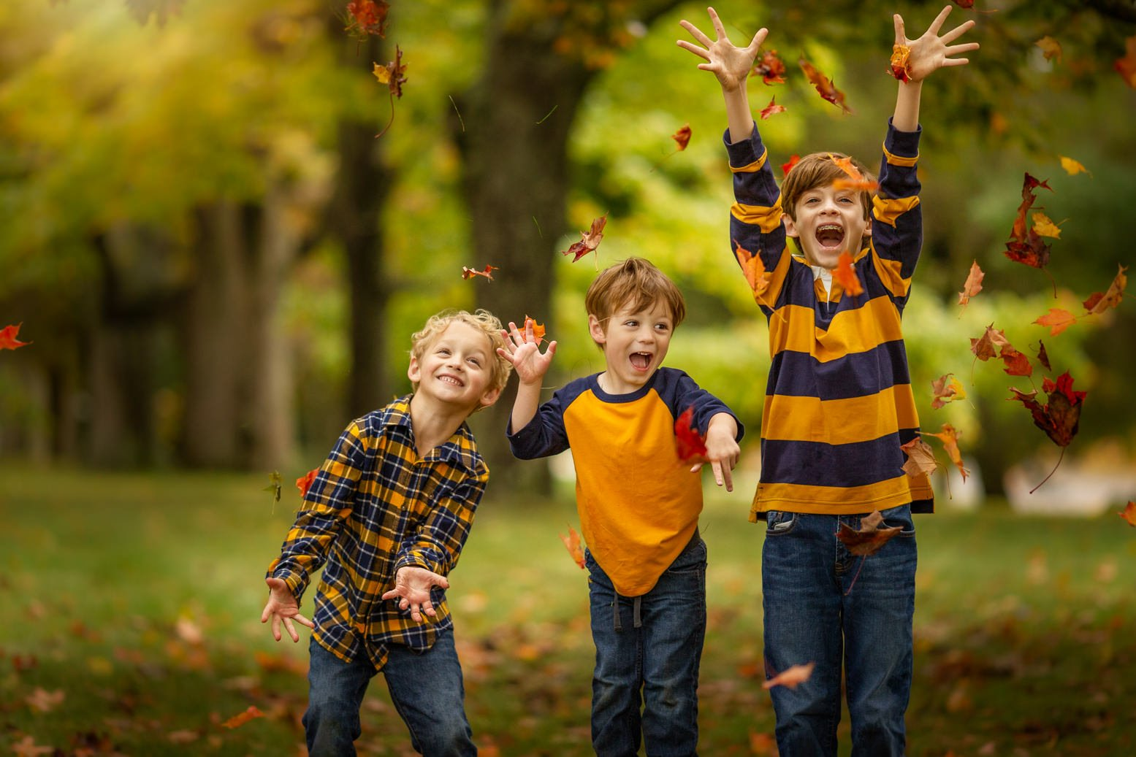 Fall Family Fine Art Portraits, Family Photographer Boston, siblings 2