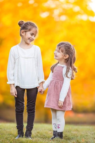 Fall Family Fine Art Portraits, Family Photographer Boston, siblings 6