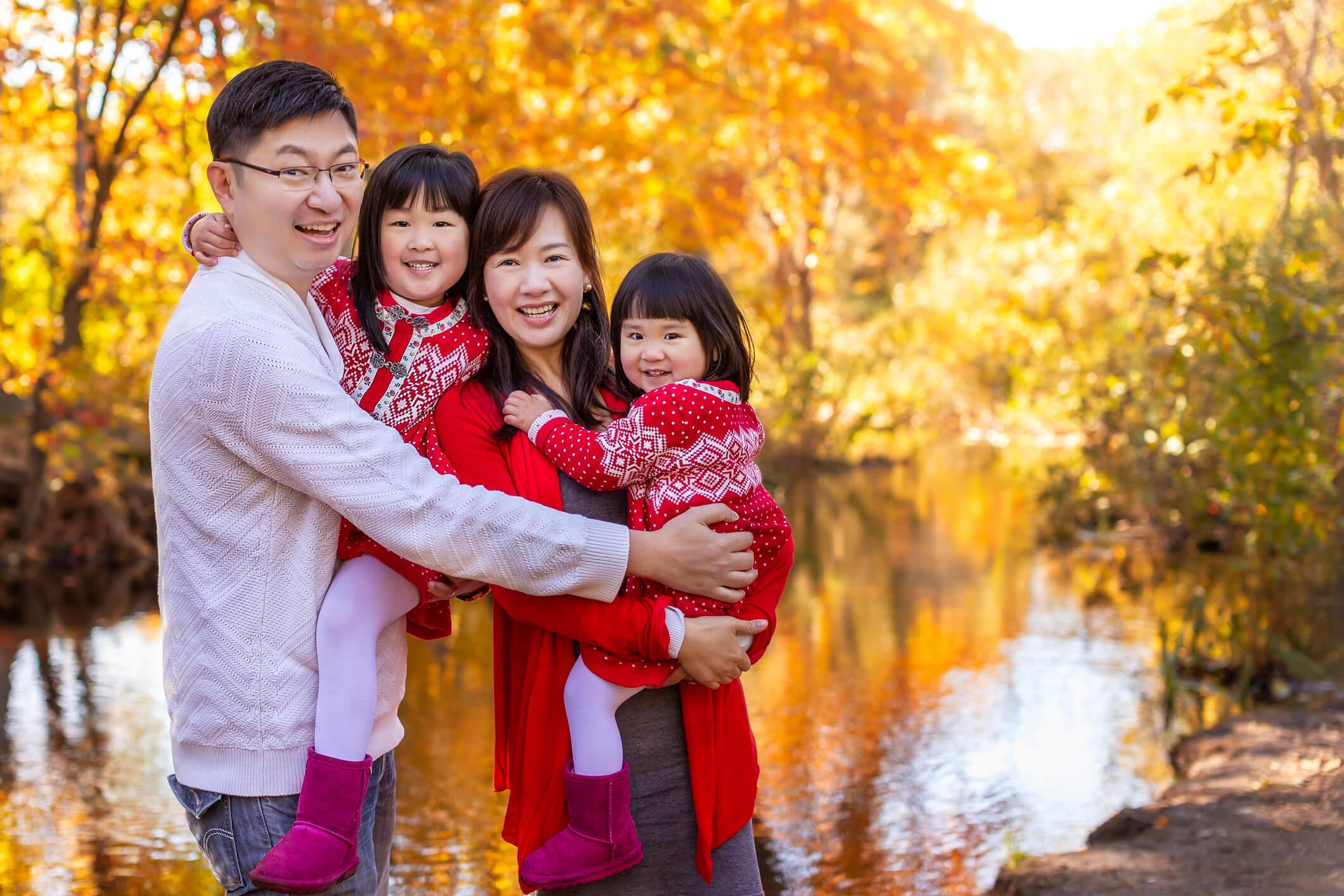 Fall Family Fine Art Portraits, Family Photographer Boston