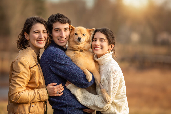 Family Fine Art Portraits in Boston