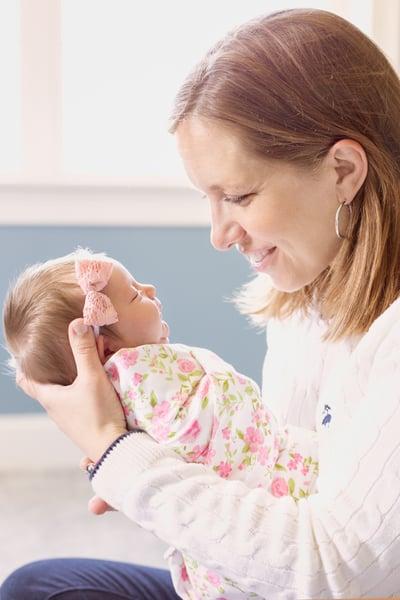 In Home Newborn Session in Boston