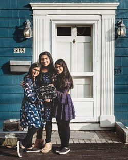 Love in Covid19 times - front door family portrait - Andre Toro Photography-101