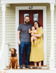 Love in Covid19 times - front door family portrait - Andre Toro Photography-107