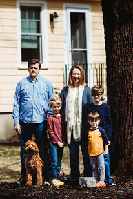 Love in Covid19 times - front door family portrait - Andre Toro Photography-114