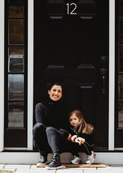 Love in Covid19 times - front door family portrait - Andre Toro Photography-120