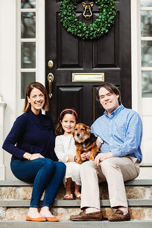 Love in Covid19 times - front door family portrait - Andre Toro Photography-128