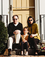 Love in Covid19 times - front door family portrait - Andre Toro Photography-13