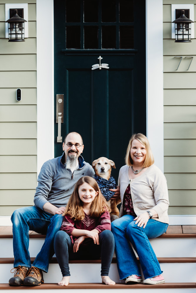 Love in Covid19 times - front door family portrait - Andre Toro Photography-130