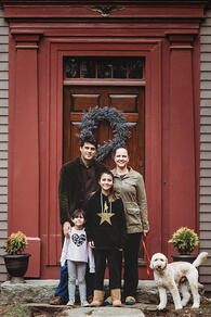 Love in Covid19 times - front door family portrait - Andre Toro Photography-135