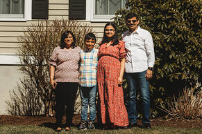 Love in Covid19 times - front door family portrait - Andre Toro Photography-25