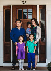 Love in Covid19 times - front door family portrait - Andre Toro Photography-26