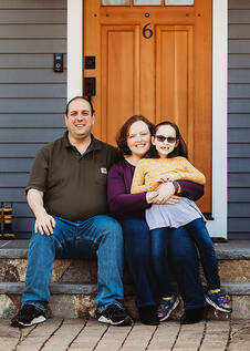 Love in Covid19 times - front door family portrait - Andre Toro Photography-29