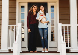 Love in Covid19 times - front door family portrait - Andre Toro Photography-30