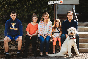 Love in Covid19 times - front door family portrait - Andre Toro Photography-33