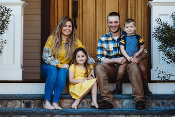 Love in Covid19 times - front door family portrait - Andre Toro Photography-35