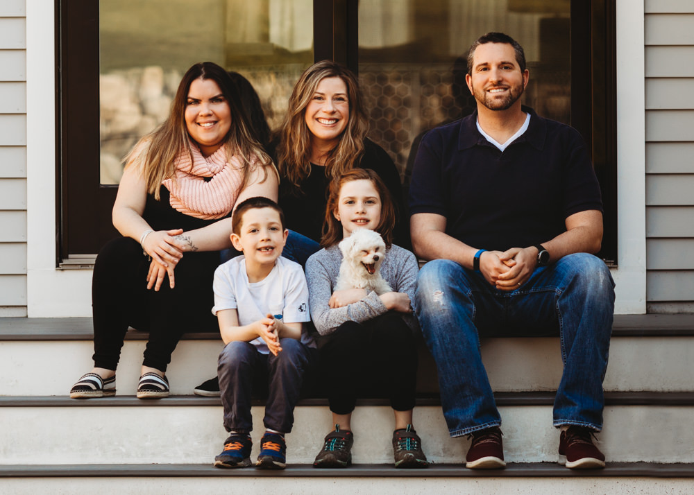 Love in Covid19 times - front door family portrait - Andre Toro Photography-37