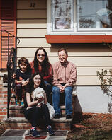 Love in Covid19 times - front door family portrait - Andre Toro Photography-62