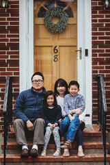 Love in Covid19 times - front door family portrait - Andre Toro Photography-87