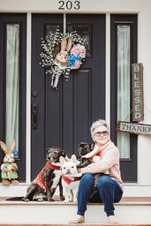 Love in Covid19 times - front door family portrait - Andre Toro Photography-89