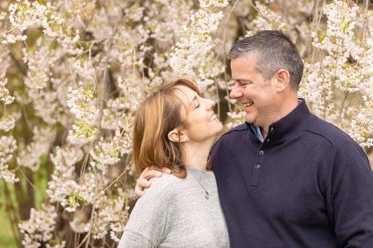 Spring Fine Art Family Portraits, Boston Family Photographer, couple