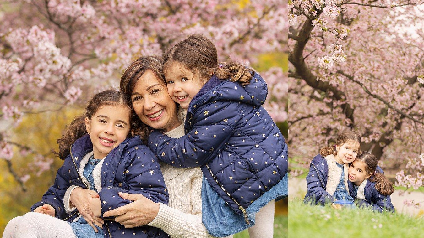 Spring boston family photo collage2