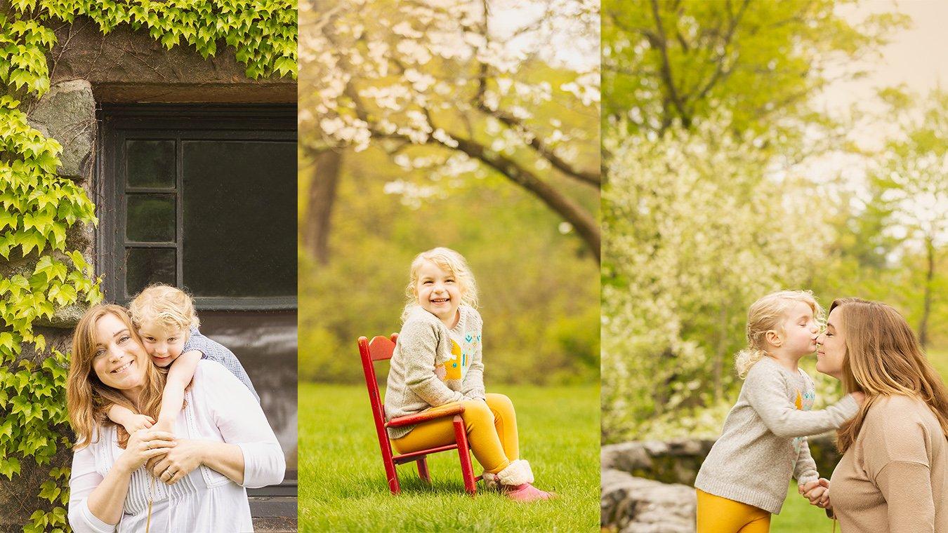 Spring boston family photo collage3