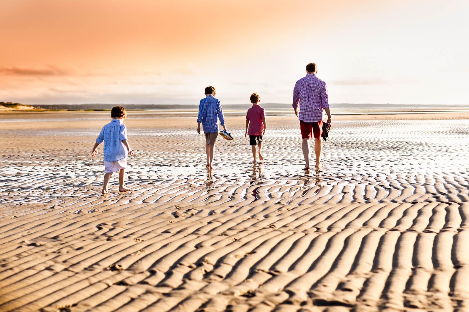 Summer Beach Family Session Cape Cod