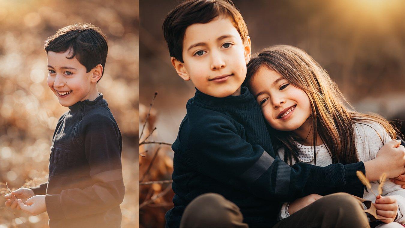 Winter Collage Boston Family Photographer 2