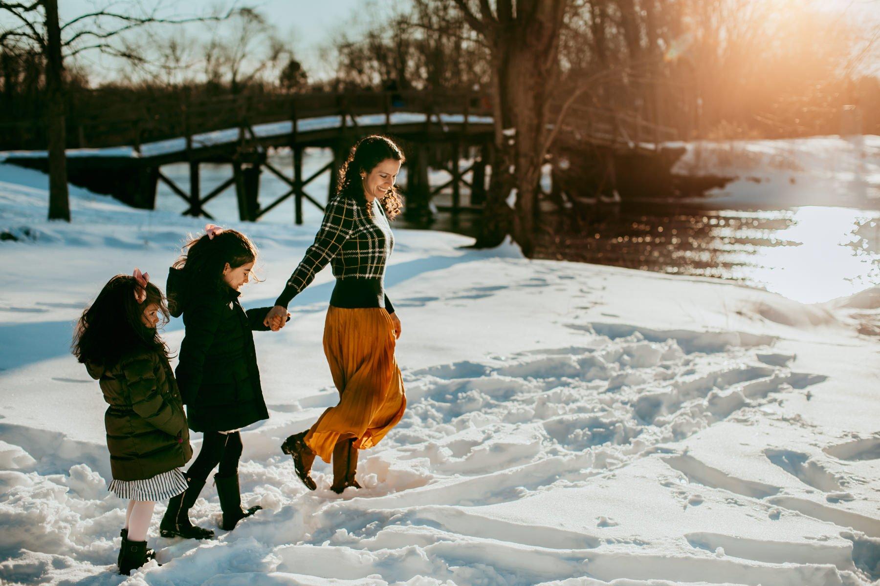 Winter Snow Boston Family Photogapher-8